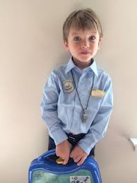 Kids Police Halloween Costume Easy Diy Police Costume Kids Diy Danielle