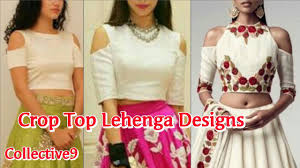 designer shoulder cut tops or crop top collection