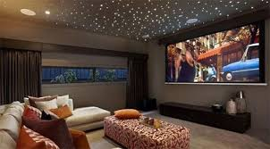 Turn Your Living Room Into A Mini Home Theatre Threatre - Living room with home theater design
