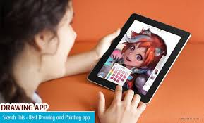 this amazing drawing and painting app for ios and android phones