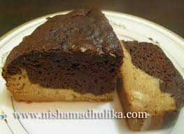 eggless chocolate and cream cake