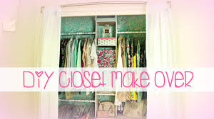 easy diy closet make over belinda selene youtube