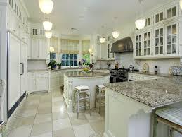 White Kitchen Cabinets With Granite Countertops by Antique White Kitchen Cabinets Prissy Design Antique White
