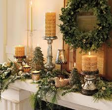 wohnzimmer weihnachtlich dekorieren kerzen dekoideen für mehr romantik in den kalten wintertagen