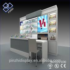 professional makeup stand professional interior cosmetic showroom design makeup stand sale