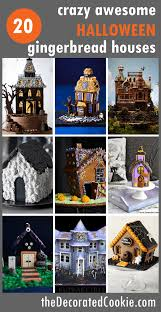 20 awesome halloween gingerbread houses the decorated cookie