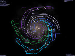 Milky Way Map Image Milky Way Sectors Png Sporewiki Fandom Powered By Wikia