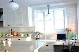 white tile backsplash best white tile kitchen ideas only natural