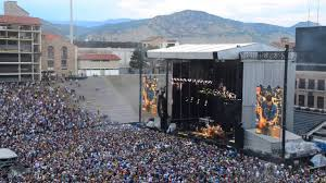 Folsom Field Map Dead And Company One More Saturday Night Folsom Field