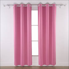 Pink Ruffle Blackout Curtains Interiors Awesome Blackout Ruffle Curtains Short Pink Blackout