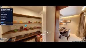 lodha meridian sample flat eden square hyderabad kitchen show