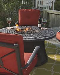 Firepit Set Burnella 5 Outdoor Pit Conversation Set