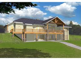 home plans for sloping lots masonville manor mountain home plan 088d 0258 house plans and more