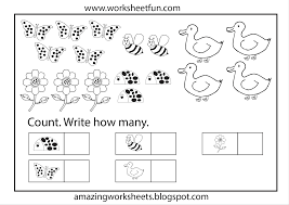 Printable Math Worksheets For Preschool Pleasant Kindergarten Math Worksheets Printable One More Reception