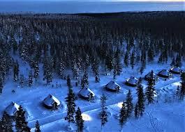 finland northern lights hotel northern lights village resort saariselkä inari discovering finland