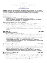 Resume Of Network Administrator Download Network Television Broadcasting Resume In Puyallup Wa
