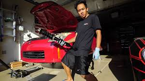 Nissan 350z Coilovers - drift spec coilover install nissan 350z bc racing youtube
