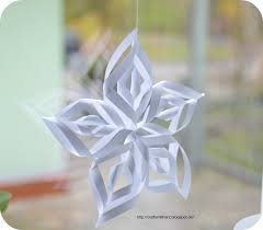 crafts mit herz paper snowflake ornaments