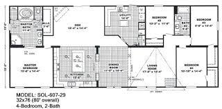 double wide floor plans 4 bedroom 3 bath nrtradiant com