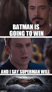 Superman Better Than Batman Memes - batman vs superman imgflip