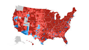 Show Map Of Usa by How The Election Unfolded Usa Today