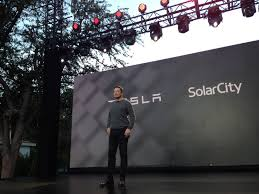 solar city tesla on track to generate 500m from solarcity merger solar roof