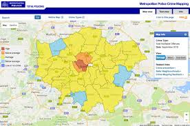 Nyc Crime Map Security What Are The Most Dangerous Areas Of London North Of