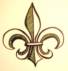 a tribal fleur de lis tattoo design in 2017 real photo pictures