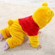 Winnie Pooh Halloween Costumes Babies Winnie Pooh Jumpsuit N6259