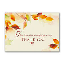 watercolor customer appreciation business thanksgiving cards http