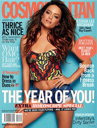 cosmopolitan cover of cosmopolitan south africa with jessica lee buchanan
