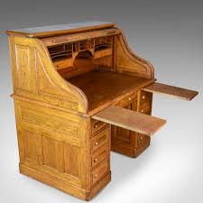 roll top desk tambour antique roll top desk english oak victorian lock tambour circa