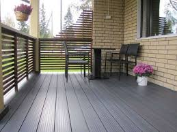 outdoor balcony with stone tiles types of outdoor balcony
