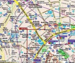 Moscow Map City Map Of Moscow Russia Borch Map U2013 Mapscompany