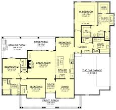 farmhouse style house plan 3 beds 2 50 baths 1993 sq ft plan