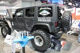 jeep diesel conversion sema 2017 bruiser conversions u0027 jeep wrangler jk