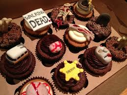 the walking dead cupcakes walking dead cake and walking dead cake