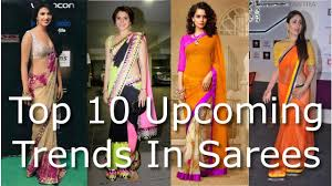 upcoming trends 2017 latest sarees on trend upcoming trends of designer sarees 2017