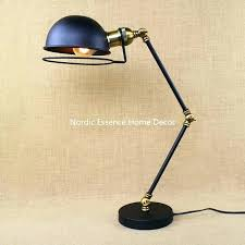 swing arm desk lamps desk swing arm desk lamp french horn loft