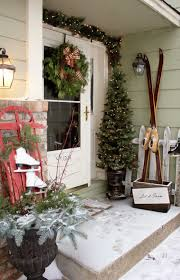 exterior christmas porch decorating ideas elegant christmas