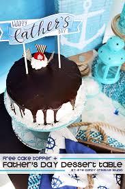 eye candy creative studio free father u0027s day cake topper dessert