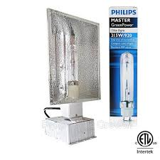phillips green power bulb with 315 watt ballast fixture