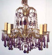 Vintage Crystal Chandelier Parts I Lite 4 Restored Lighting Fixtures U0026 Parts