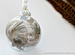 wispy feather ornament the happier homemaker
