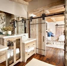 sliding barn doors that bring rustic beauty the bathroom custom barn door for the relaxed rustic bathroom design peace