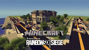 house de siege minecraft rainbow six siege house map showcase