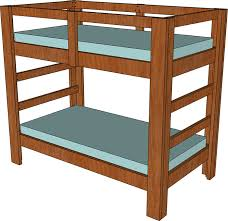 Build A Bunk Bed Jays Custom Creations - Simple bunk bed plans