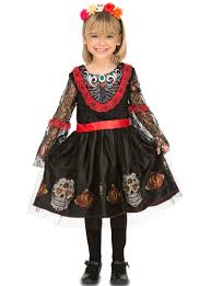 catrina costume girl s adorable catrina costume buy on funidelia at the best price