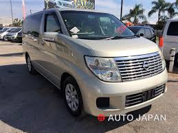 nissan elgrand u2013 extra luxury 8 seater auto japan