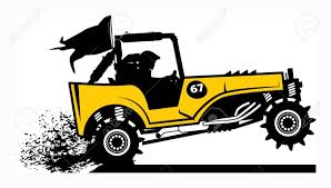 jeep cartoon offroad off road buggy royalty free cliparts vectors and stock